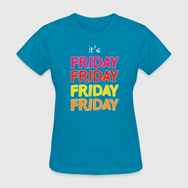TGIF (dark) - Women's T-Shirt