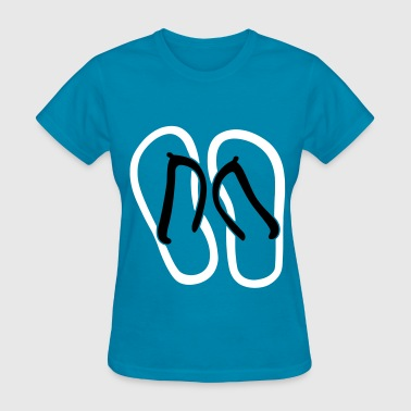 Sandal Filled - Women's T-Shirt