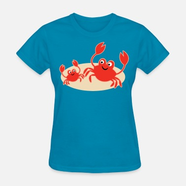 Seashore Crab Beach Seashore Cute - Women's T-Shirt