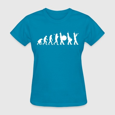 Marching Band Evolution - Women's T-Shirt