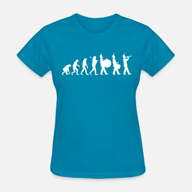 Marching Band Director Marching Band Evolution - Women's T-Shirt