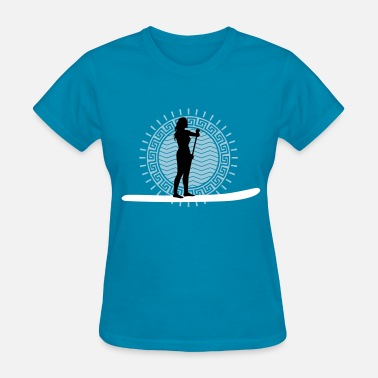 Stand Up Paddle Board stand_up_paddling_062016b_3c - Women's T-Shirt