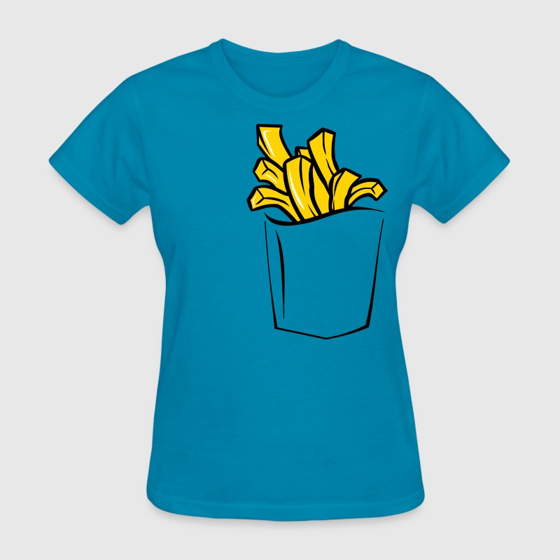 FRENCH FRIES POCKET - Women's T-Shirt