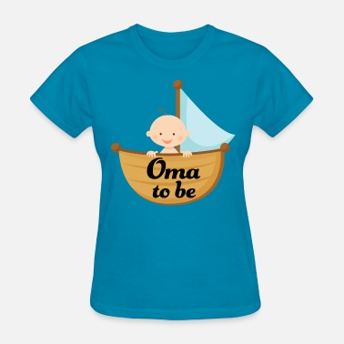 Future Grandma Gift Oma To Be Grandma Gift - Women's T-Shirt