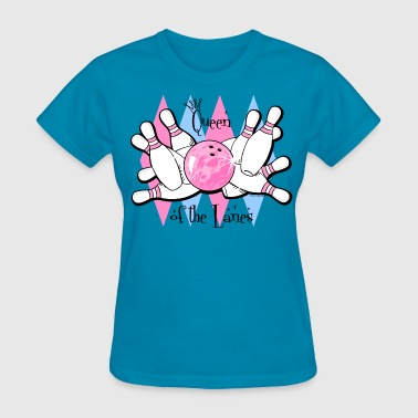 Queen of the Lanes - Women's T-Shirt