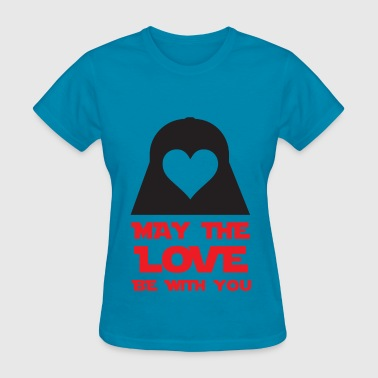 May The Love Be With You - Women's T-Shirt