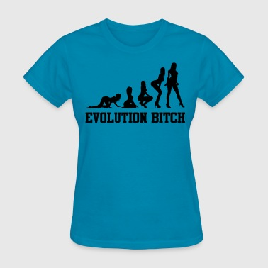 Evolution bitch - Women's T-Shirt
