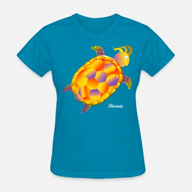Brazilian Riomio Magic turtle - Women's T-Shirt