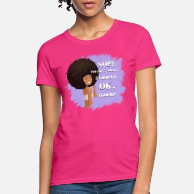 Can't Touch My Afro - Women's T-Shirt