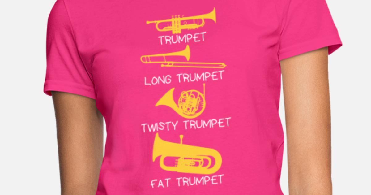 a2017a072 Funny types of trumpets, funny trumpet gift idea Women's T-Shirt ...