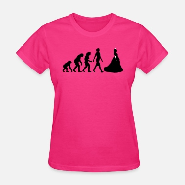 Daddy Princess Evolution of woman prince - Women's T-Shirt