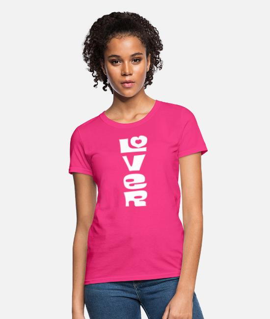 Husband T-Shirts - Lover - Women's T-Shirt fuchsia