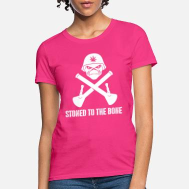 Stoned Bones STONED TO THE BONE Shirt - Women's T-Shirt