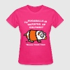 Hamster Fuck you Quotes Party Costume Fun Shirt  - Women's T-Shirt