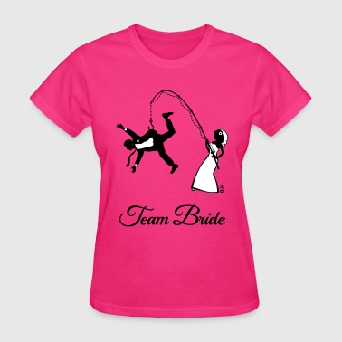 Team Bride Husband Fishing (Hen Party 2C) - Women's T-Shirt