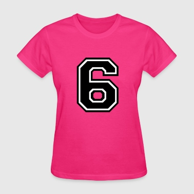 Number 6 Six - Women's T-Shirt