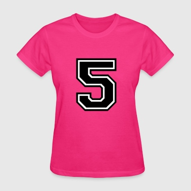 Number 51 Five - Women's T-Shirt