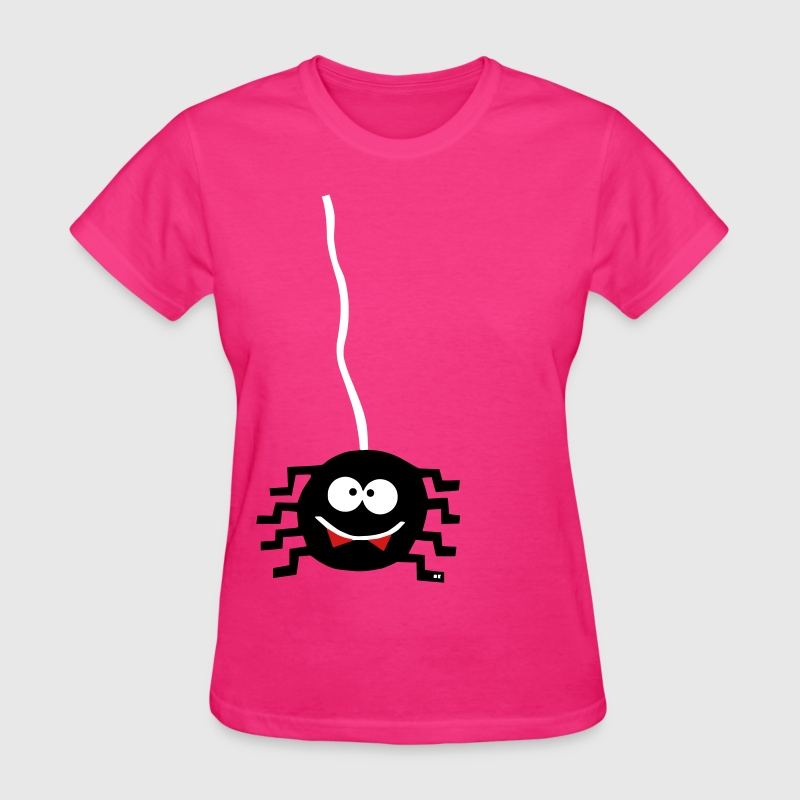 Spider Spiderman Halloween scary creepy costume  - Women's T-Shirt