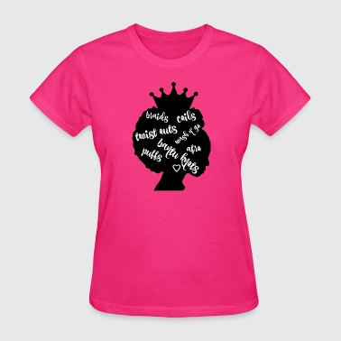 Natural Hairstyles - Women's T-Shirt