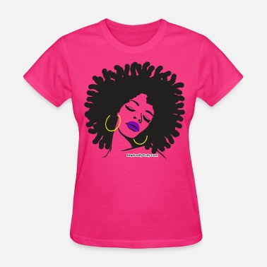 Natural Hair Thick & Beautiful - Women's T-Shirt