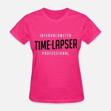Time Lapse Photography Time-lapser, from Mediarena.com - Women's T-Shirt
