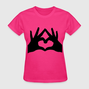 Hands Heart - Women's T-Shirt