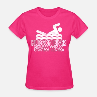 Hudson News Funny Hudson River Swim Team - Women's T-Shirt