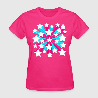Star Pop 3 - Women's T-Shirt