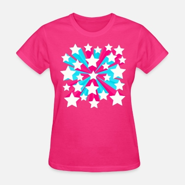 Pop Star Star Pop 3 - Women's T-Shirt