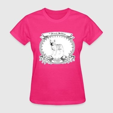 Purebred Dogs The French Bulldog 1625 - Women's T-Shirt