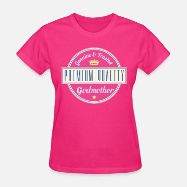 Godparents Godmother Vintage Logo - Women's T-Shirt