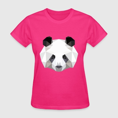 Panda low poly vector - Women's T-Shirt
