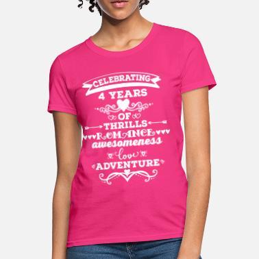 e303548e 4th Anniversary Gift Cute - Women's T-Shirt. Women's T-Shirt. 4th  Anniversary Gift Cute