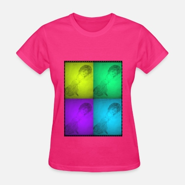 Dancing Doll Colorful Dancing Dolls - Women's T-Shirt