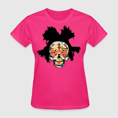 BASQUIAT SKULLY - Women's T-Shirt