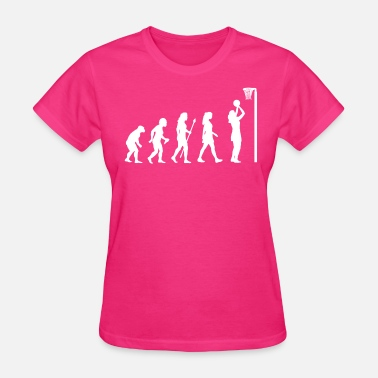 Netball Funny Netball Evolution - Women's T-Shirt