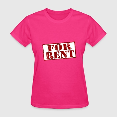For Rent - Women's T-Shirt