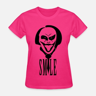 Fool Smile joker smile - Women's T-Shirt
