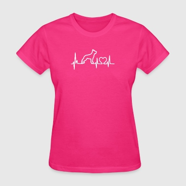 My Heart Beats Malinois - Women's T-Shirt