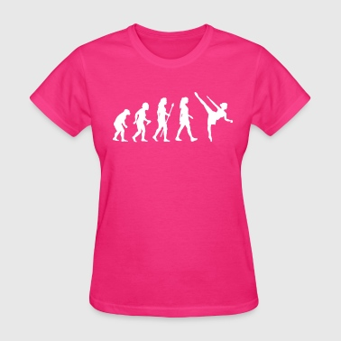 Funny Women's Ballet Evolution - Women's T-Shirt