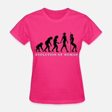 Striptease evolution_of_woman_striptease_052016_a_2 - Women's T-Shirt