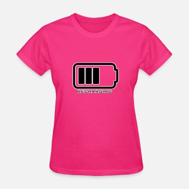 Recharge Recharging - Women's T-Shirt
