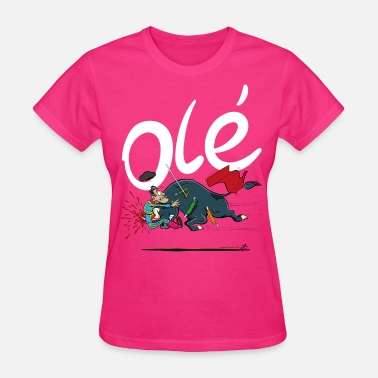 Bullfighting Olé, Bad luck Bull fighter (grey T-shirts) - Women's T-Shirt