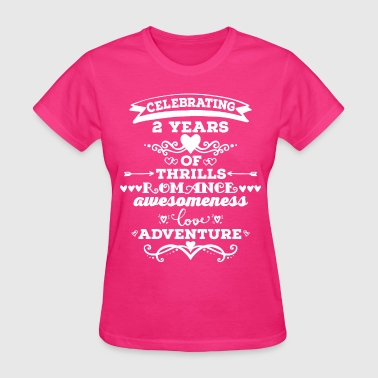 2nd Anniversary Vintage - Women's T-Shirt