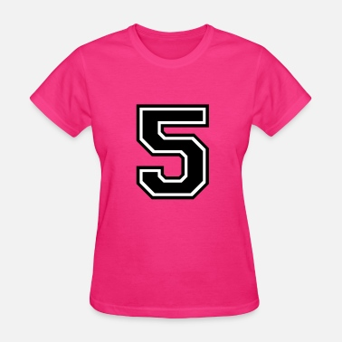 Number 51 Number 51 Five - Women's T-Shirt