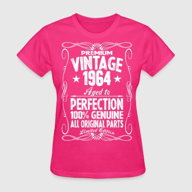 Premium Vintage 1964 Aged To Perfection 100% Genui - Women's T-Shirt