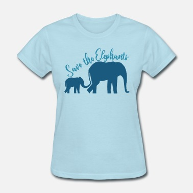 Save The Elephants Save the Elephants - Women's T-Shirt