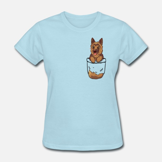 Ladies  Denim Blue German Shepherd Dog Scarf  Nice Quality   Brand New Gift idea