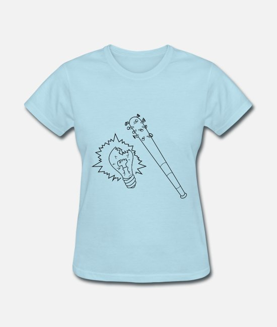 Brain T-Shirts - BrainBrake - Women's T-Shirt powder blue