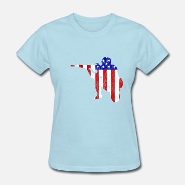 Soldier Flag American Flag Soldier - Soldier flag pattern - Women's T-Shirt